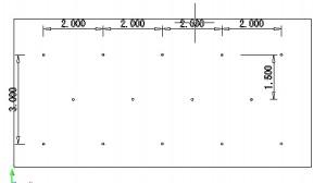 重力式擁壁正面図