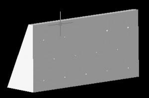重力式擁壁 ソリッドモデル