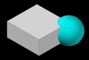 cubeと球