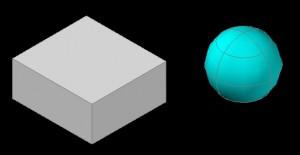 cubeと球 その1