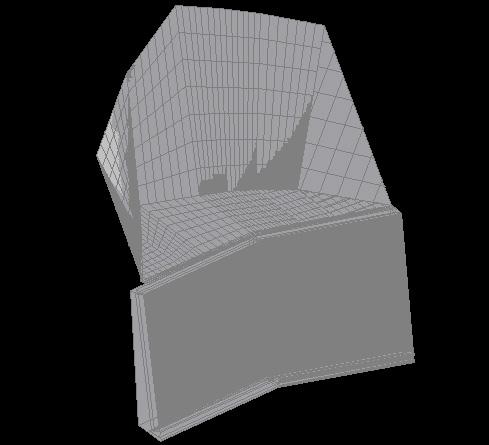 ブロック積み完成モデル