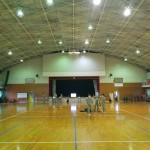 安岐中学校体育館